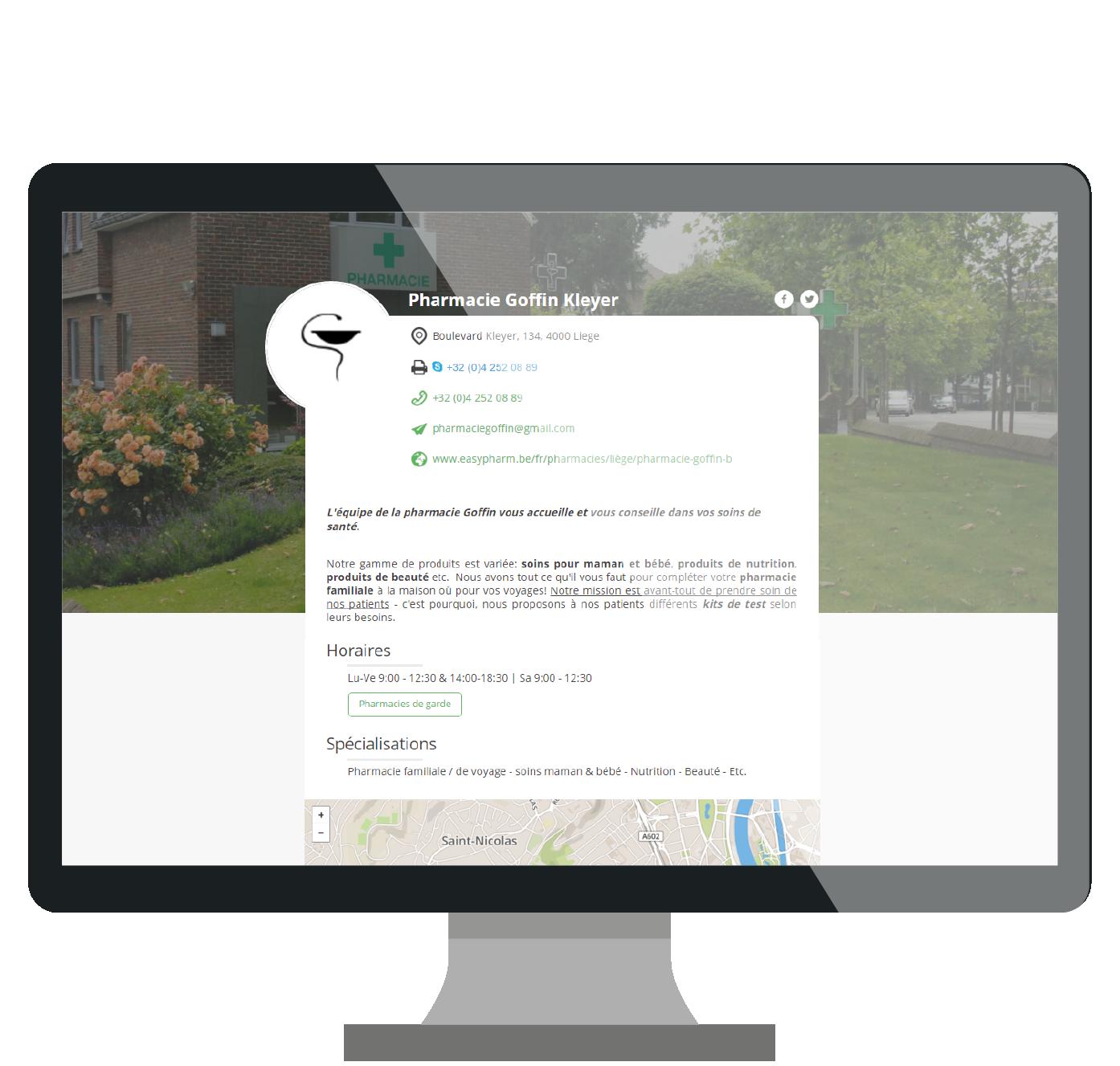 Site web pharmacie